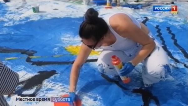 Современное искусство привлекает молодых ставропольских художниц